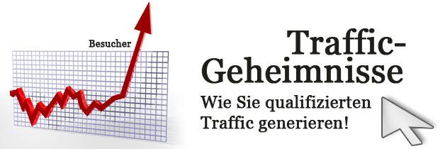 Traffic Geheimnisse - mehr Besucher für Ihre Webseite!