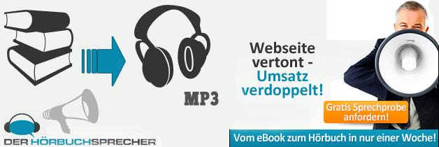 Bücher und eBooks vertont - Umsatz verdoppelt!